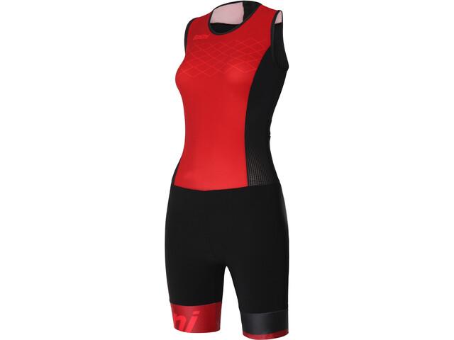 Santini Redux Trisuit SL Women rosso